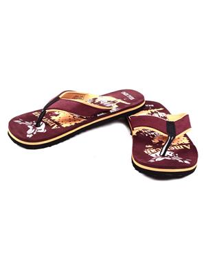 Foot Clone FC-104 Maroon Men Flip Flops