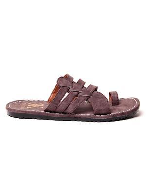 Foot Clone FC-111 Brown Men Slippers