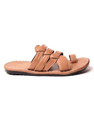 Foot Clone FC-111 Tan Men Slippers
