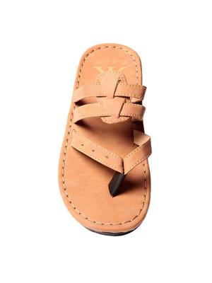 Foot Clone FC-113 Tan Men Slippers