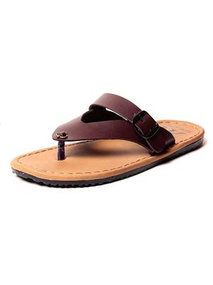 Foot Clone FC-114 Brown Men Slippers
