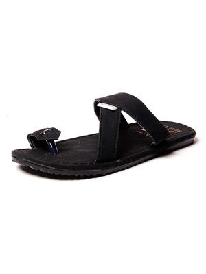 Foot Clone FC-115 Black Men Slippers