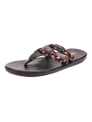 Foot Clone FC-124 Black Men Slippers