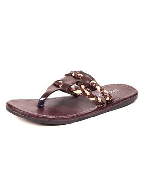 Foot Clone FC-124 Brown Men Slippers