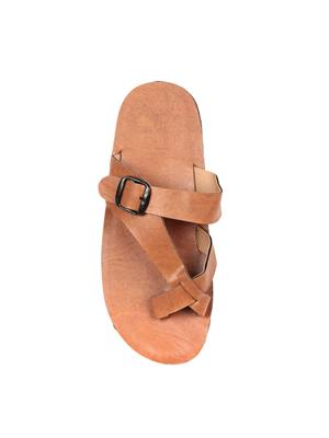 Foot Clone FC-126 Tan Men Slippers