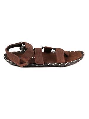 Foot Clone FC-127 Brown Men Sandals