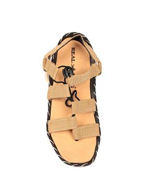 Foot Clone FC-127 Tan Men Sandals