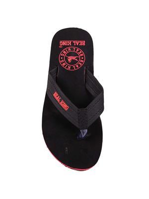 Foot Clone FC-128 Black Men Flip Flops