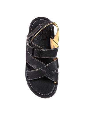 Foot Clone FC-131 Black Men Floater Sandals