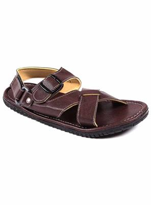 Foot Clone FC-131 Brown Men Sandals