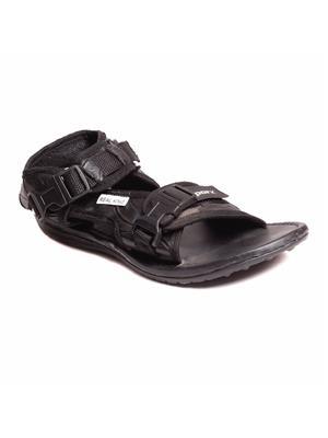 Foot Clone FC-169-Black Men Sandal