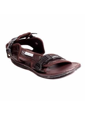 Foot Clone FC-169-Brown Men Sandal