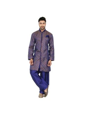 Fashion Curries Fc-235  Blue Tonchoi Indowestern Wear