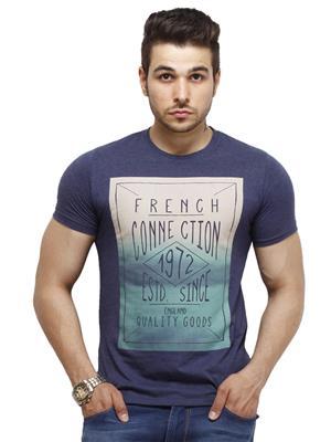 FCUK 56DVD Blue Men T-Shirt