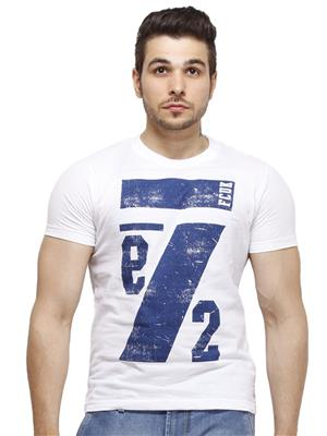 FCUK 56DSS White Men T-Shirt