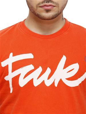 FCUK 56DST Red Men T-Shirt