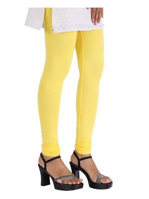 Fc Fashion Fc-Legg10-Yellow Women Leggings