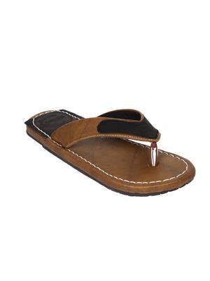 Metmo Ff201615 Beige Men Slippers