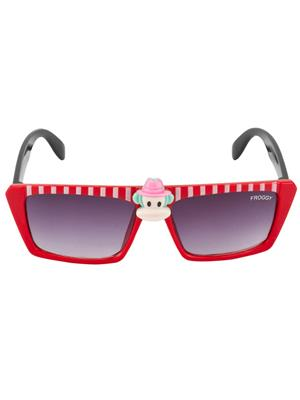 Froggy Fg-04-Rd Black Kids Sunglass