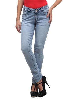 FGT 14024  Light Blue Woman Jeans