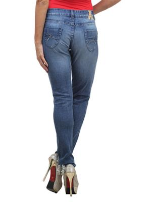 FGT 14024  Dark Blue Woman Jeans