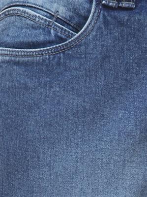 FGT 14024  Dark Blue Woman Jeans