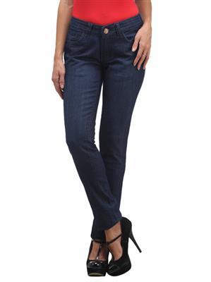 FGT 10050  Dark Blue Woman Jeans