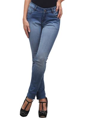 FGT 15026  Light Blue Woman Jeans