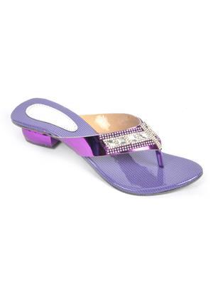 Fashbeat Fh10Pbl Purple Women Heels