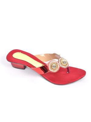 Fashbeat Fh7M Maroon Women Heels