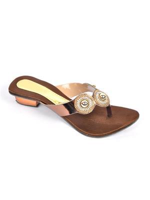 Fashbeat Fh8Br Brown Women Heels