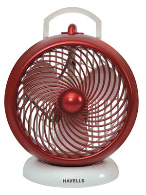 Havells FHPICMXWMR07  Red Table Fan