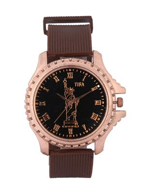 Fashionkart Fk-Tifa2-Bk-Lbr Brown Men Analog Watch