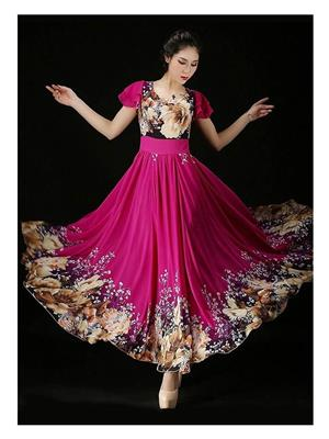 Fastkharidi FKADNKT40 Pink Women Dresses