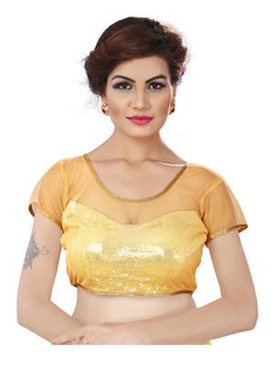 Fabkaz Fkb-F06 Yellow Women Blouse