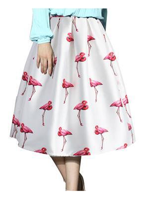 Fastkharidi Fkfbst005 White Women Skirt
