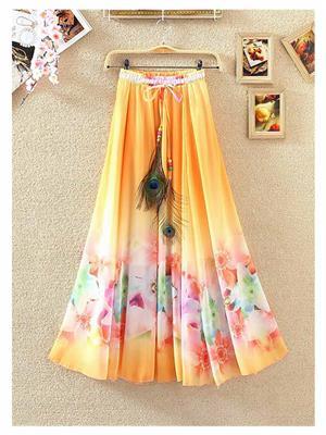 Fastkharidi FKFBST023 Multicolored Women Skirt