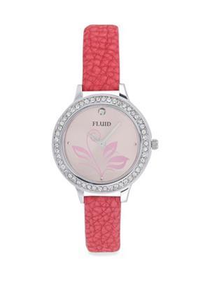 Fluid Fl-112-Bk01 Pink Women Watch