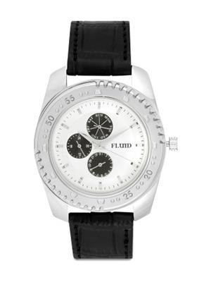 Fluid Fl-123-Ips-Sl01 White Men Watch