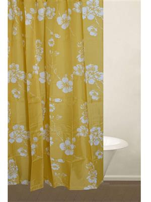 Freelance FL02 Yellow Shower Curtains