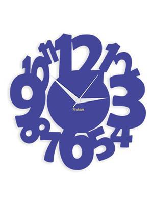 Prakum Flkt12Fma01-05 Blue Wall Clock