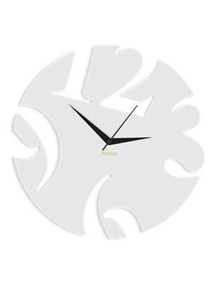 Prakum Flkt12Fma01-09 White Wall Clock