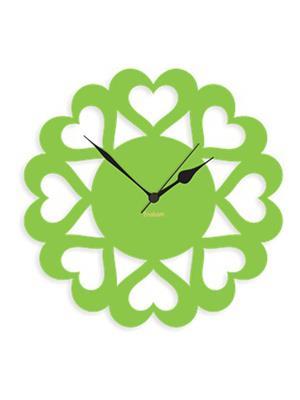 Prakum Flkt12Fma01-106 Green Wall Clock
