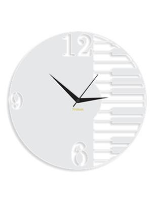 Prakum Flkt12Fma01-15 White Wall Clock