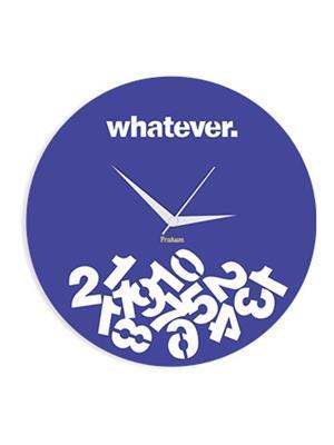 Prakum Flkt12Fma01-23 Blue Wall Clock