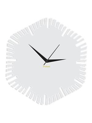 Prakum Flkt12Fma01-39 White Wall Clock