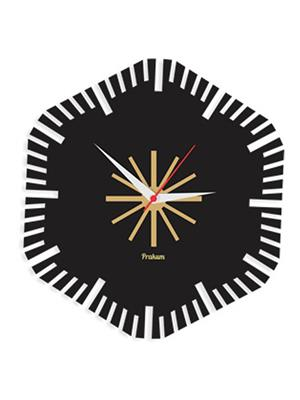 Prakum Flkt12Fma01-44 Multicolored Wall Clock