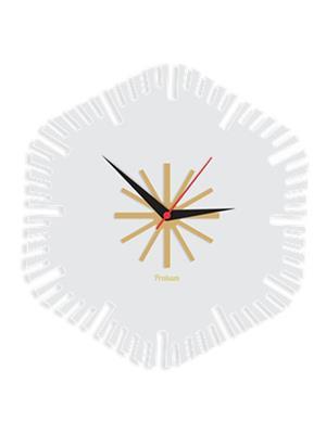 Prakum Flkt12Fma01-45 Multicolored Wall Clock