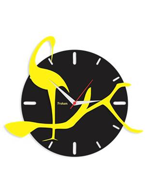 Prakum Flkt12Fma01-50 Multicolored Wall Clock