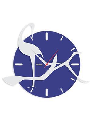 Prakum Flkt12Fma01-51 Multicolored Wall Clock